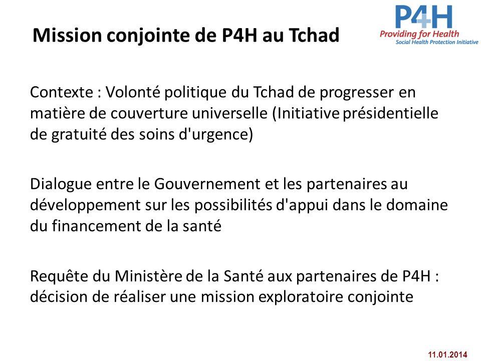Mission conjointe de P4H au Tchad