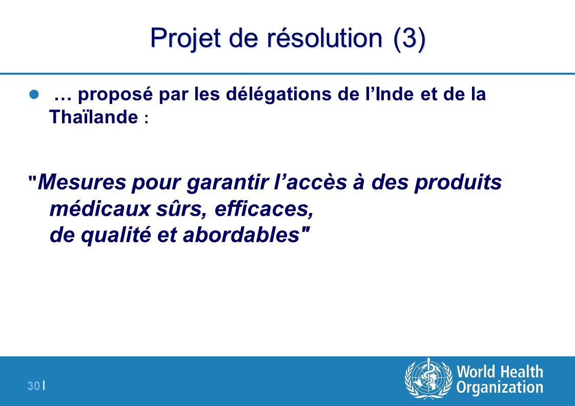 Projet de résolution (3)