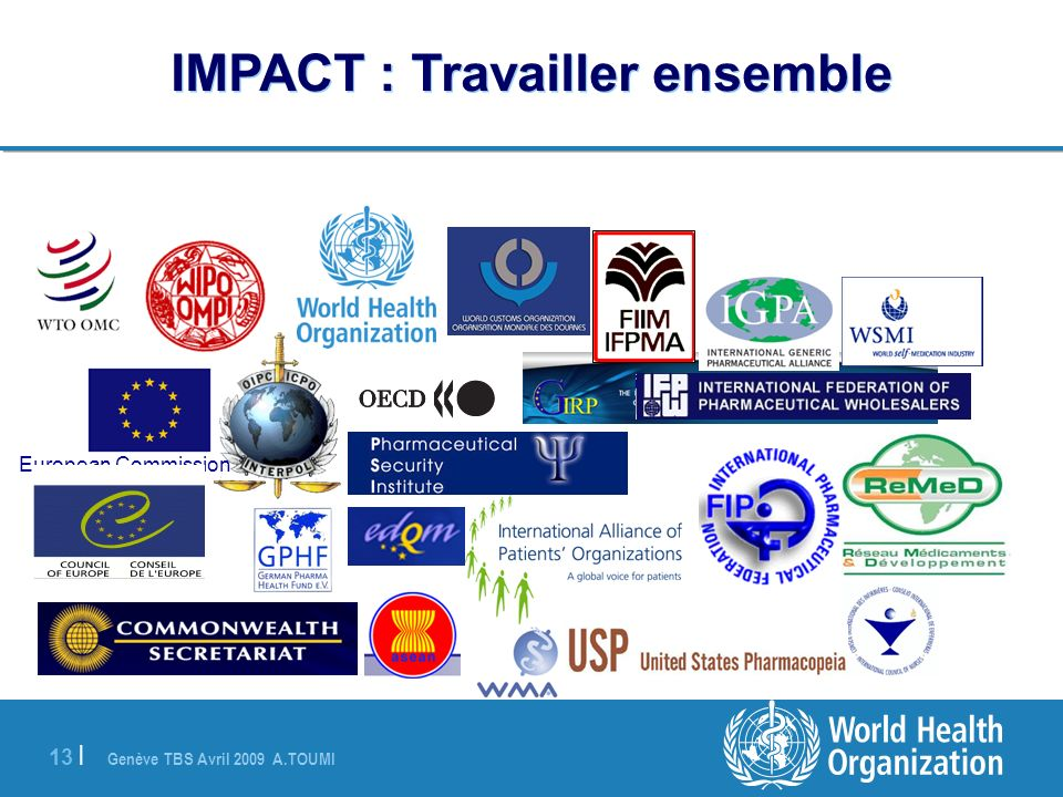 IMPACT : Travailler ensemble