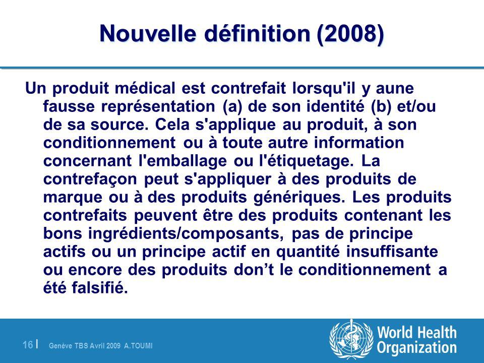 Nouvelle définition (2008)