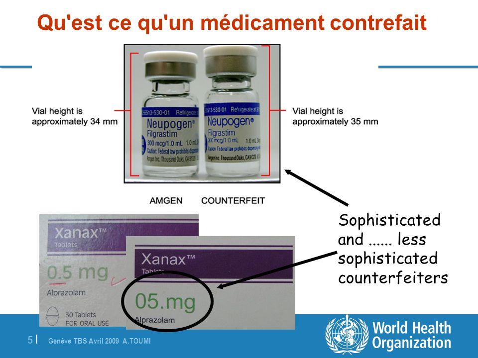 Qu est ce qu un médicament contrefait
