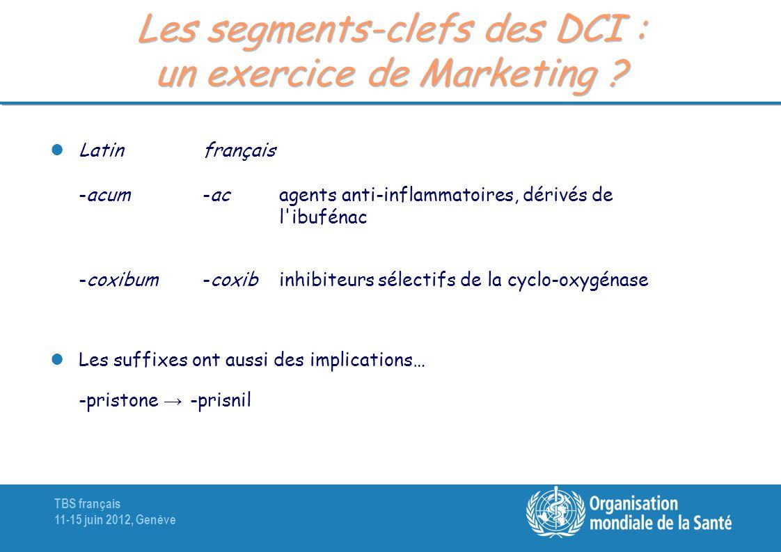 Les segments-clefs des DCI : un exercice de Marketing