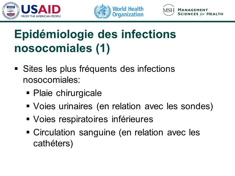 Epidémiologie des infections nosocomiales (1)