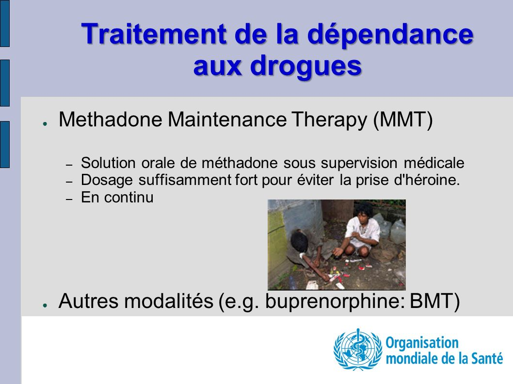 Traitement de la dépendance aux drogues