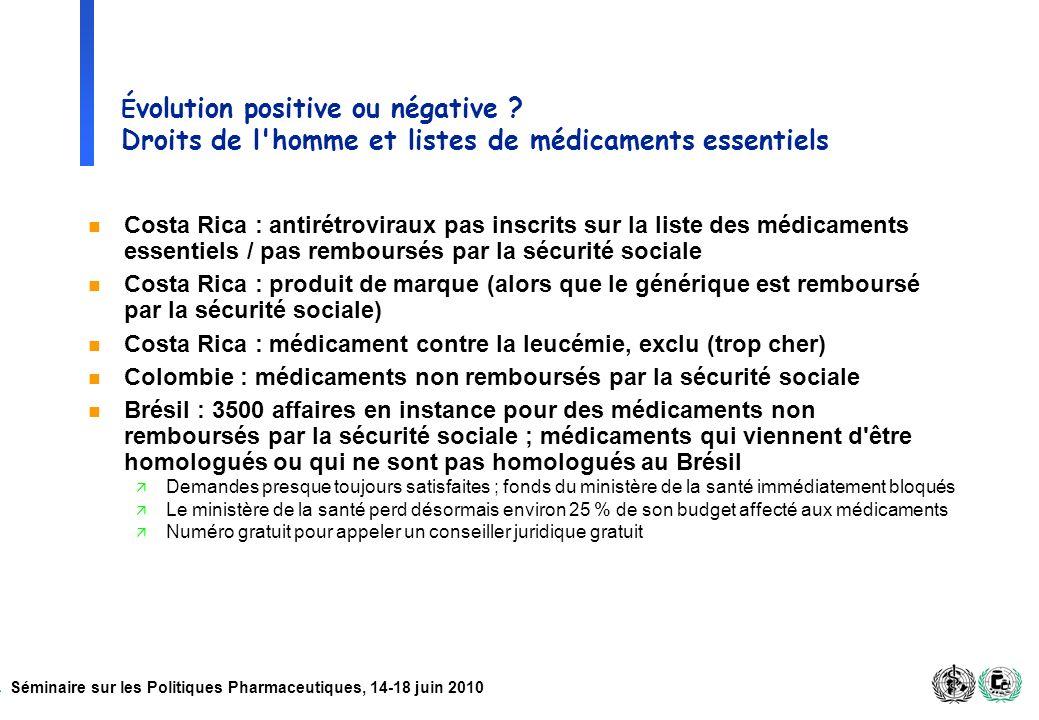Costa Rica : médicament contre la leucémie, exclu (trop cher)