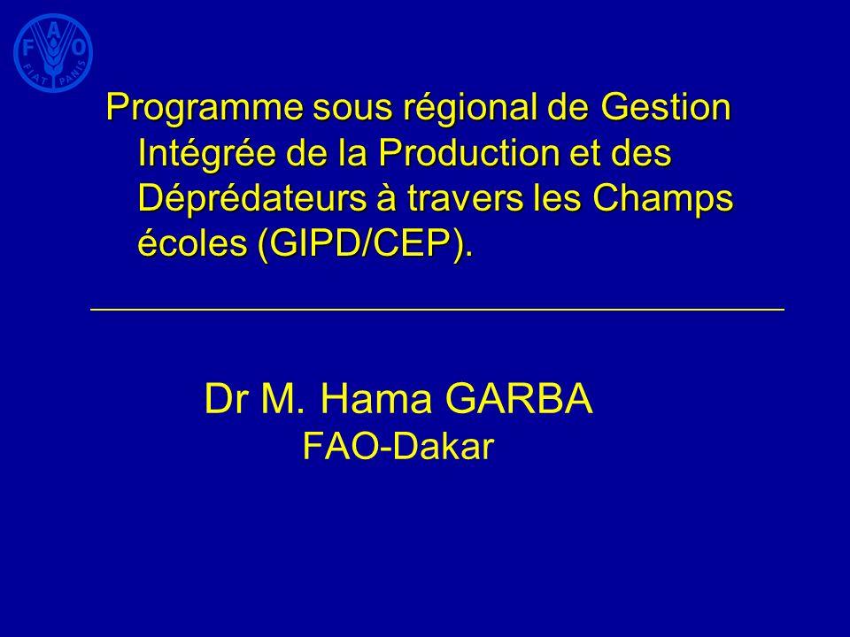 Dr M. Hama GARBA FAO-Dakar