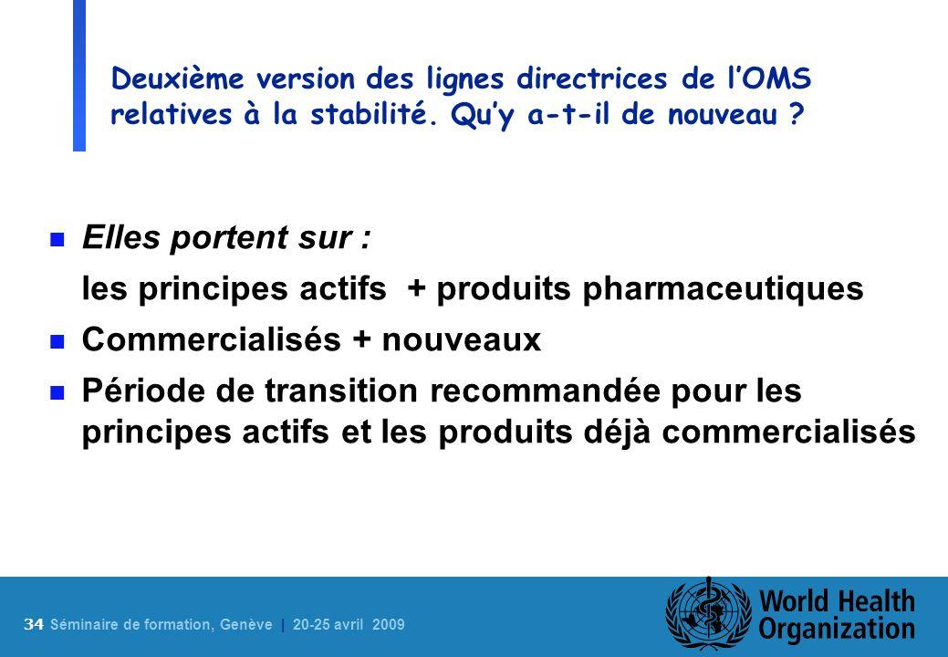 les principes actifs + produits pharmaceutiques