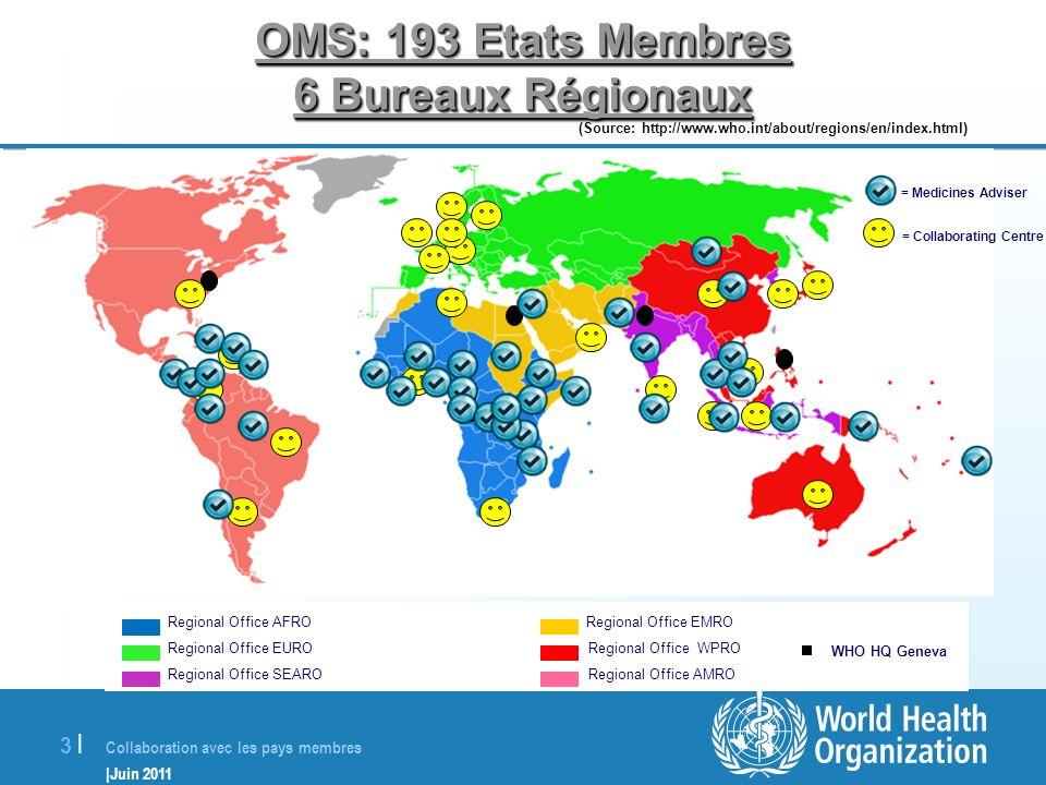 Exemples de collaboration de l 39 oms avec les pays ppt for 6 bureaux regionaux de l oms