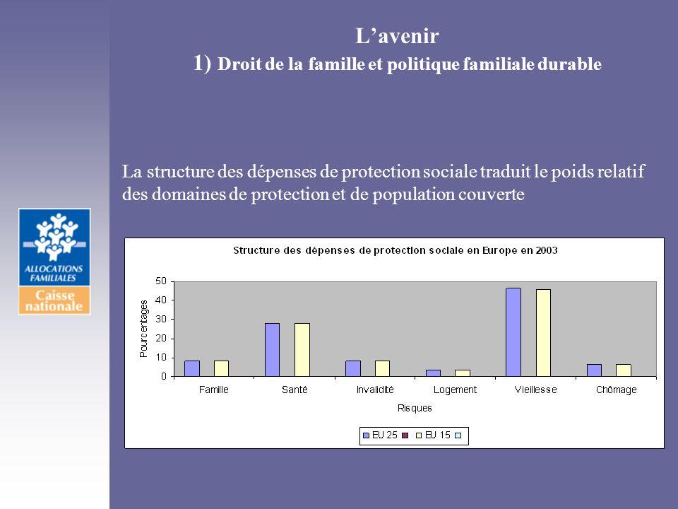 L'avenir 1) Droit de la famille et politique familiale durable