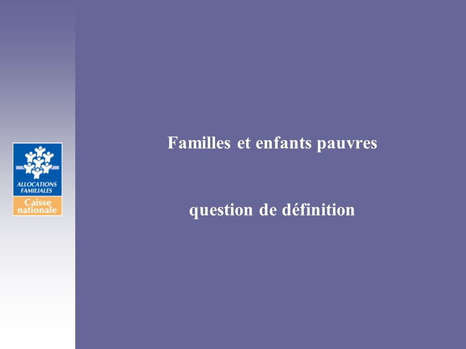 question de définition