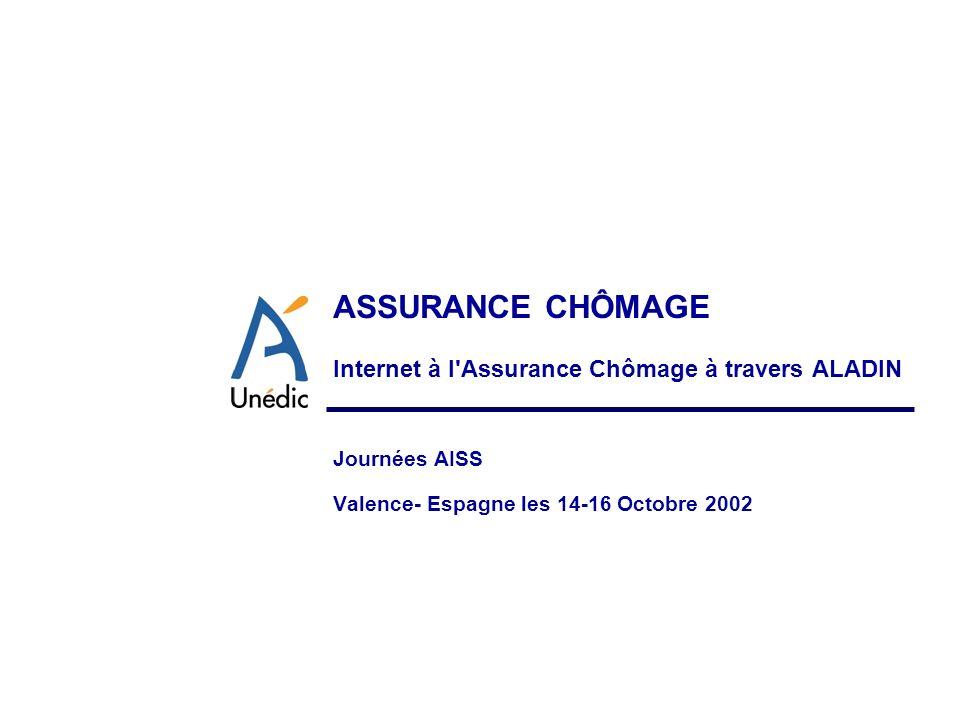 Internet à l Assurance Chômage à travers ALADIN