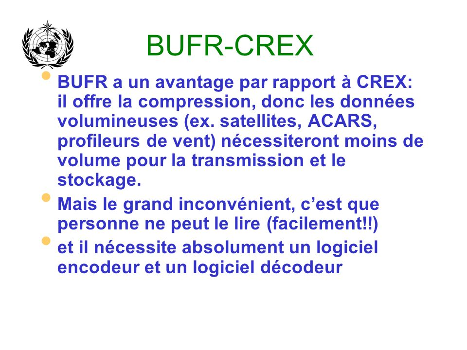 BUFR-CREX