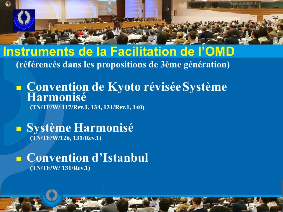 Instruments de la Facilitation de l'OMD