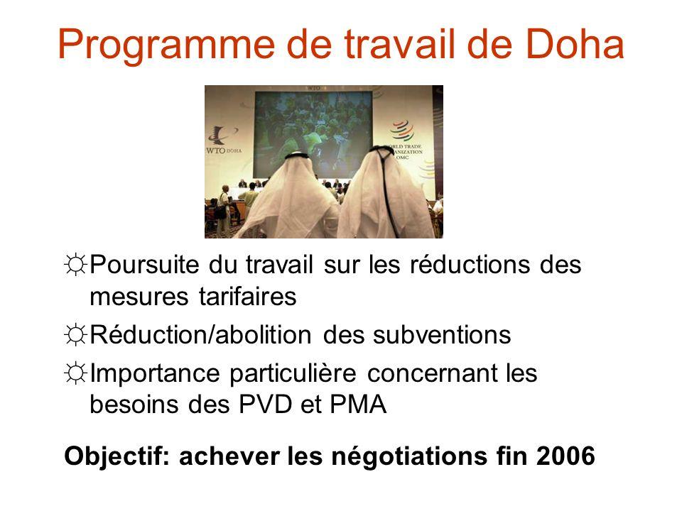 Programme de travail de Doha