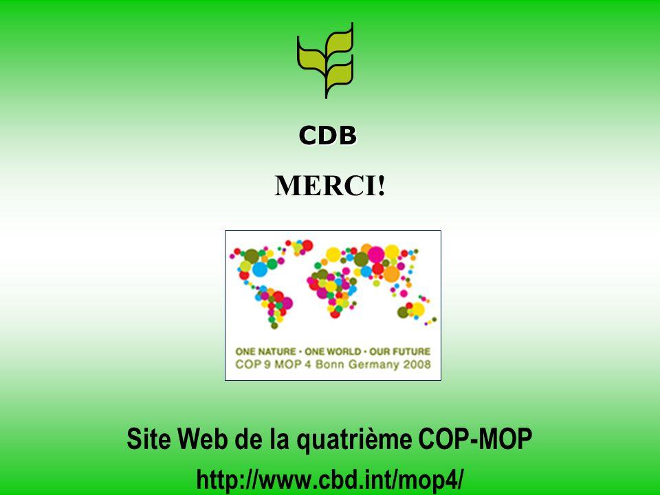 Site Web de la quatrième COP-MOP