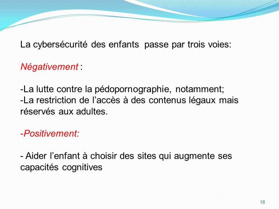 La cybersécurité des enfants passe par trois voies: