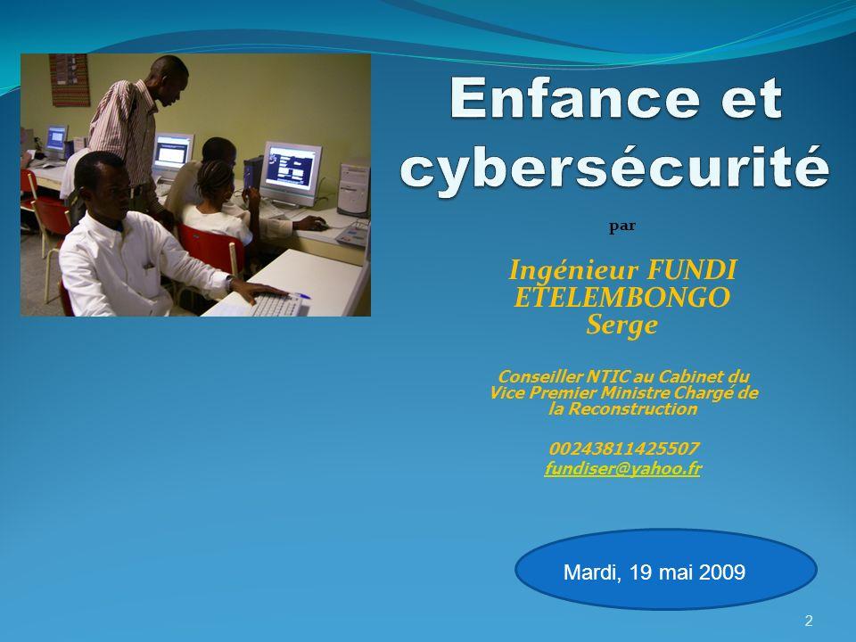 Enfance et cybersécurité