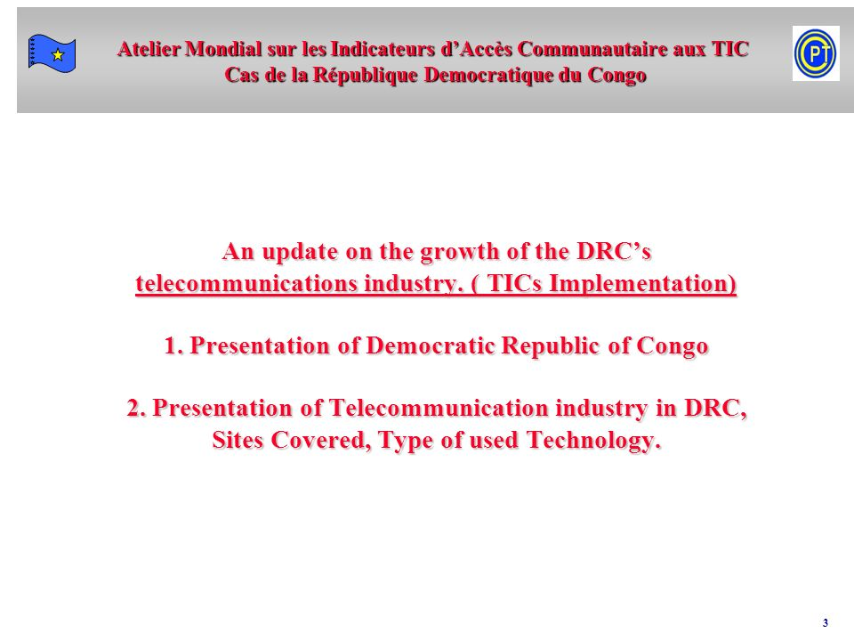 An update on the growth of the DRC's telecommunications industry