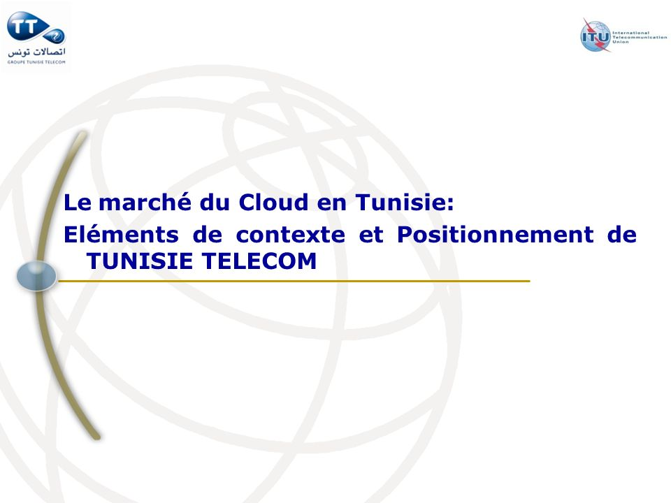 Le marché du Cloud en Tunisie: