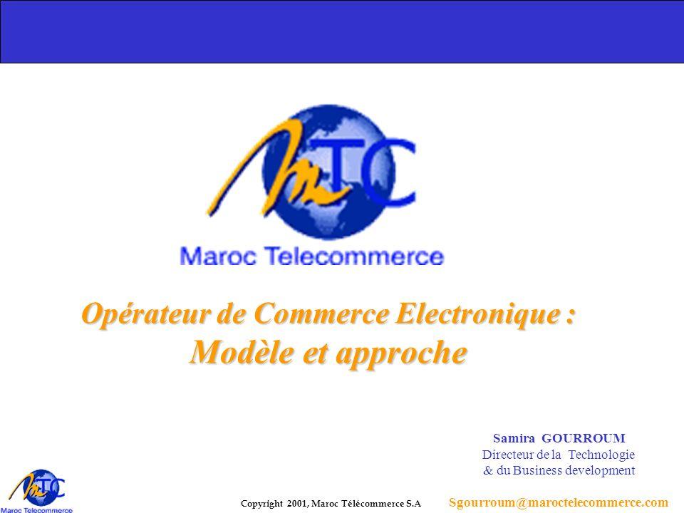 Opérateur de Commerce Electronique :