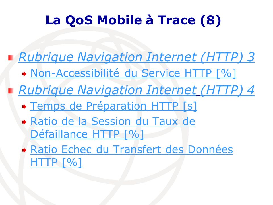 Rubrique Navigation Internet (HTTP) 3