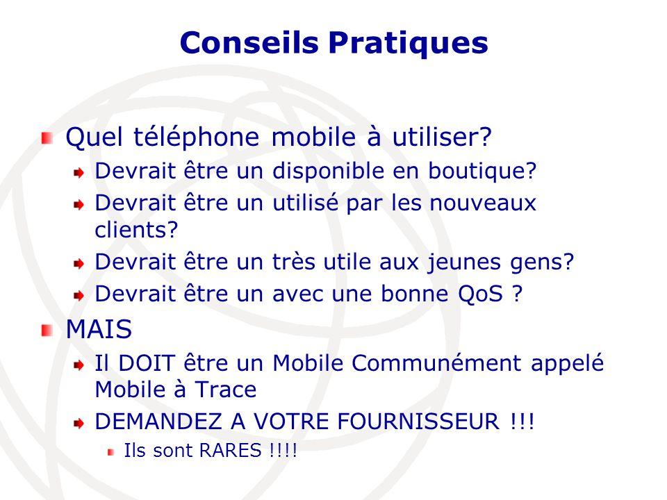 Conseils Pratiques Quel téléphone mobile à utiliser MAIS