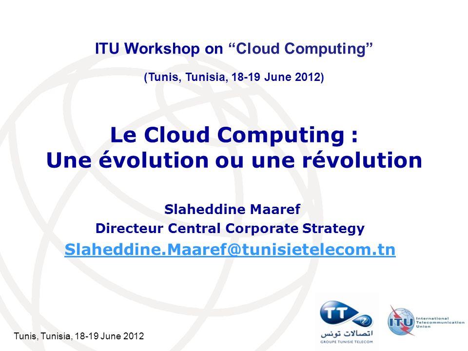 Le Cloud Computing : Une évolution ou une révolution