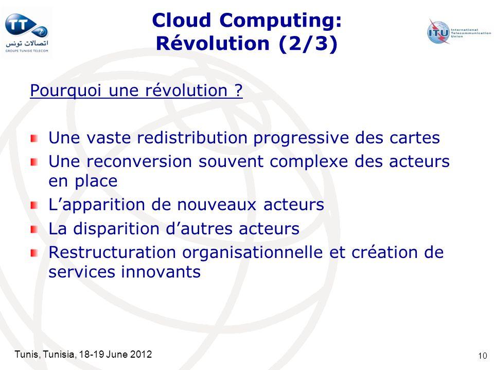 Cloud Computing: Révolution (2/3)