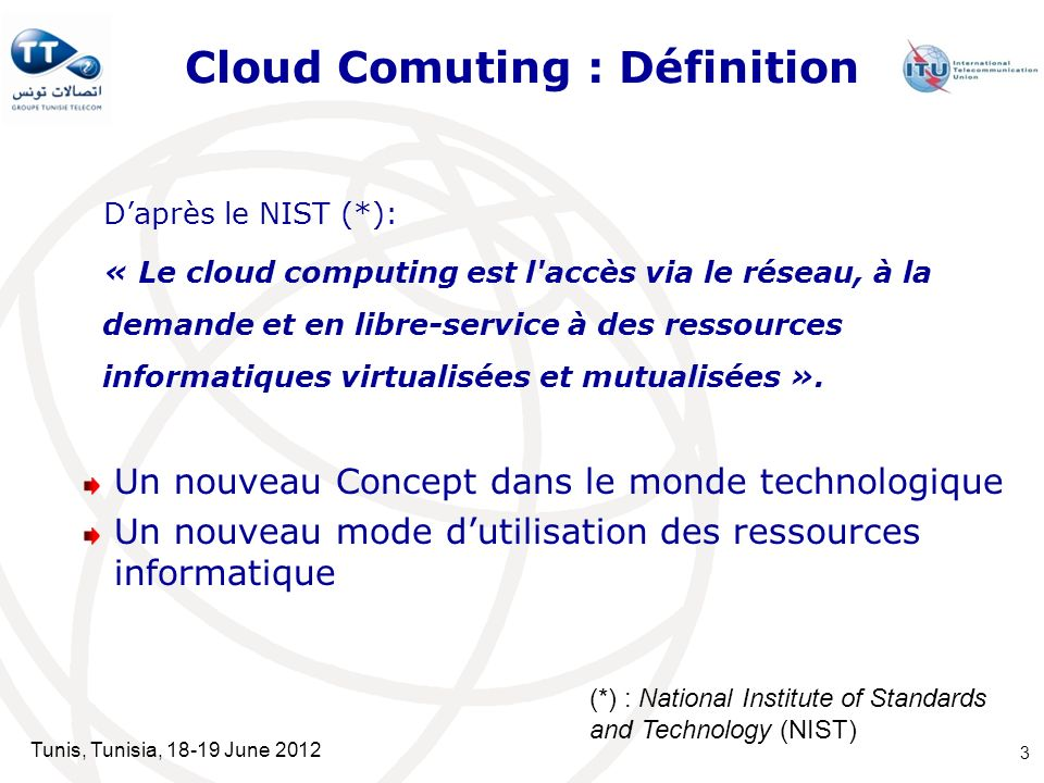 Cloud Comuting : Définition