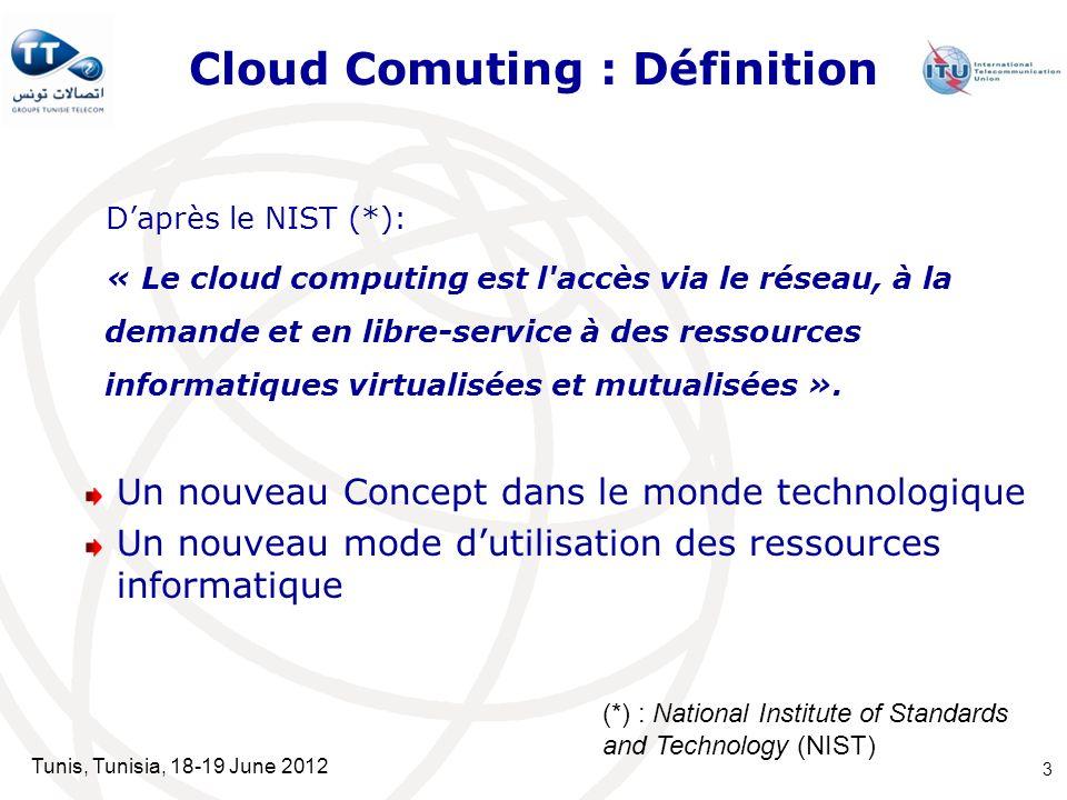 Cloud Comuting : Définition