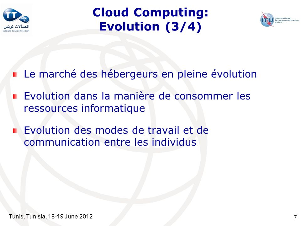 Cloud Computing: Evolution (3/4)