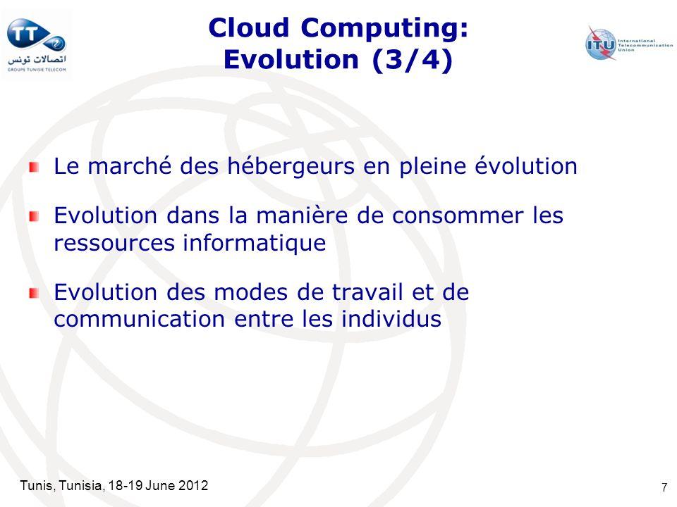 Cloud Computing: Evolution (3/4)