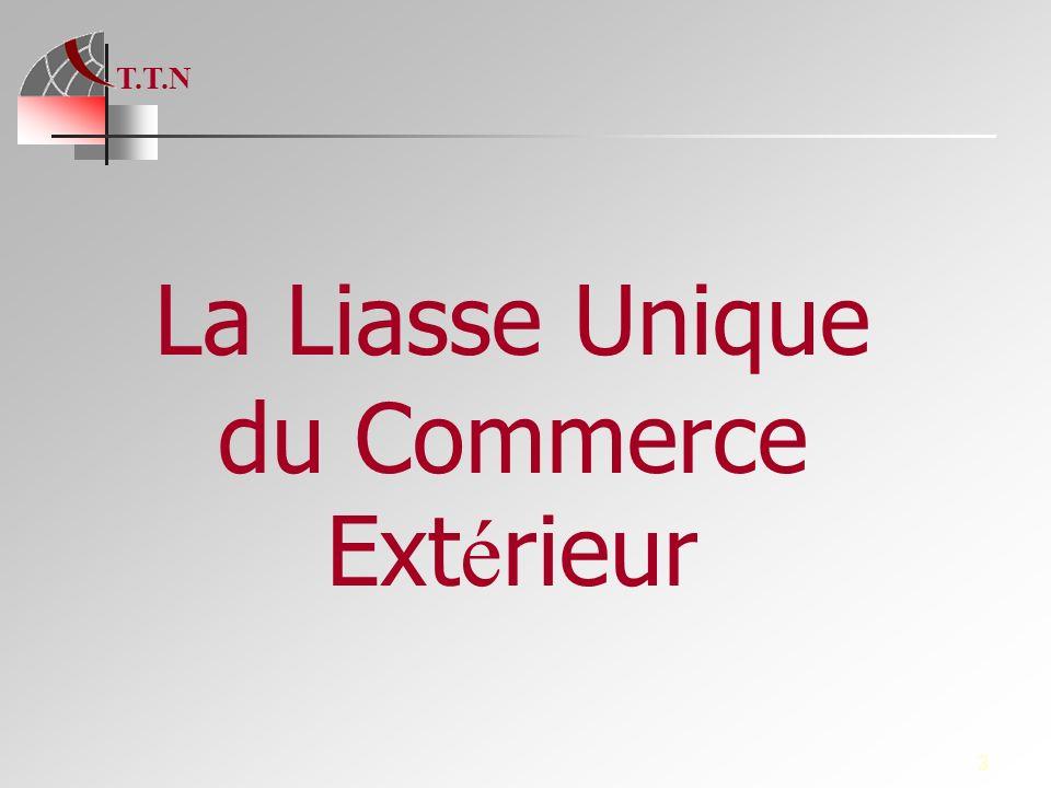 La Liasse Unique du Commerce Extérieur