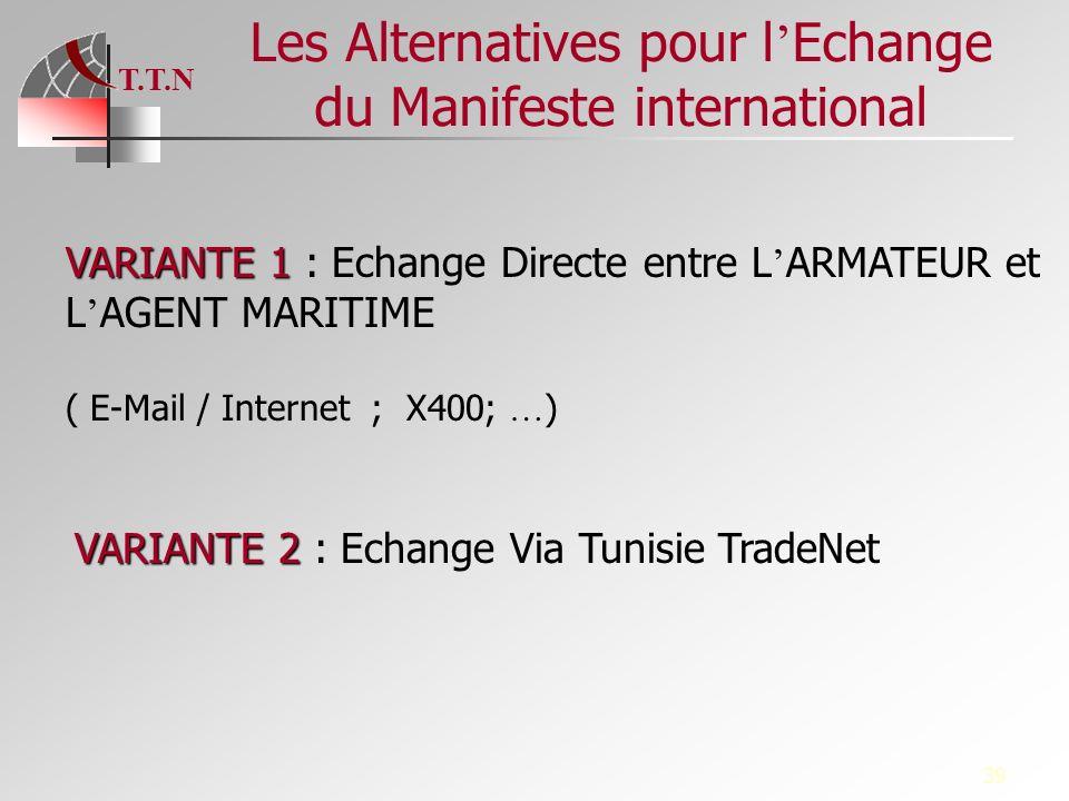 Les Alternatives pour l'Echange du Manifeste international