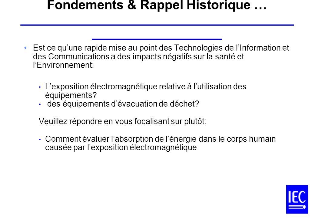 Fondements & Rappel Historique … ________________________________________________________