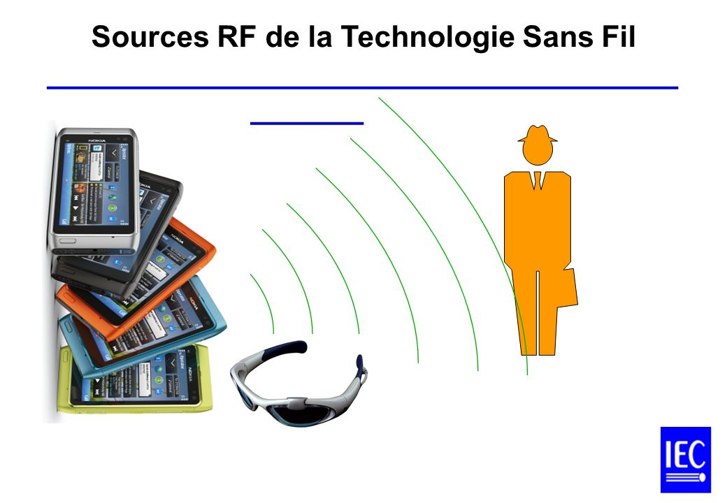 Sources RF de la Technologie Sans Fil