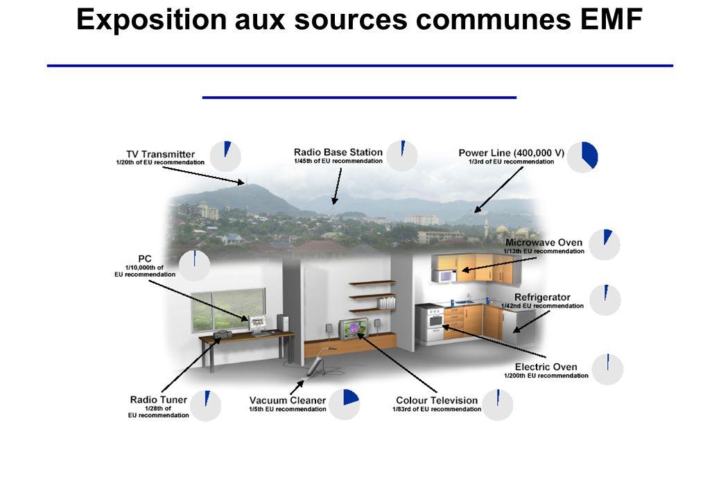 Exposition aux sources communes EMF