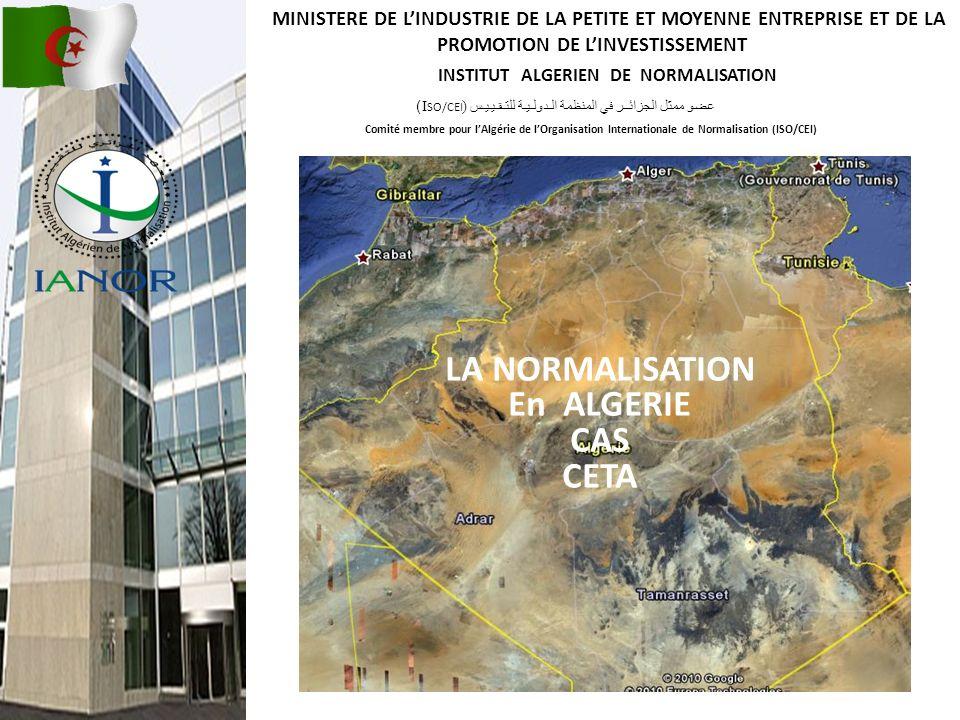 INSTITUT ALGERIEN DE NORMALISATION