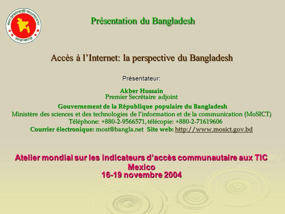 Présentation du Bangladesh