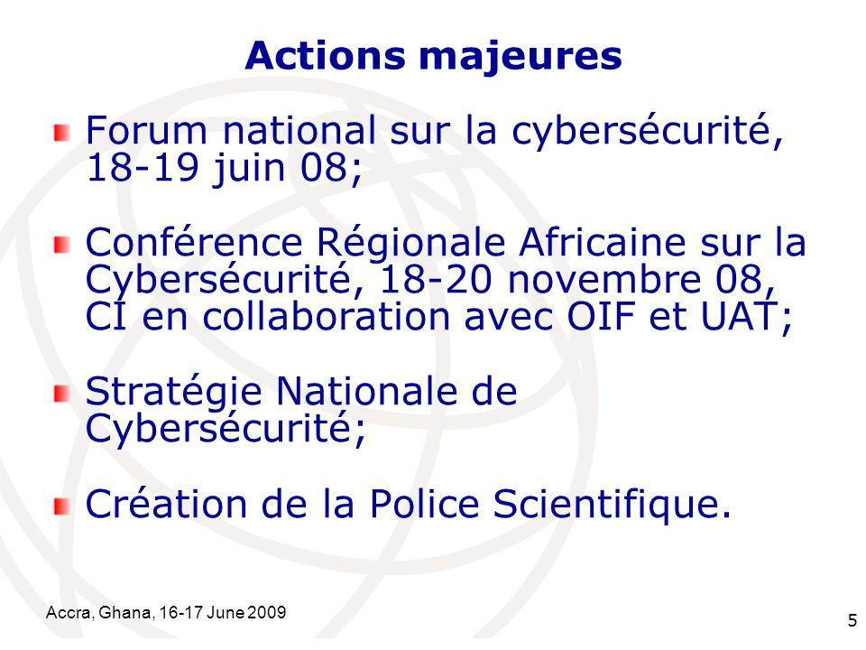 Forum national sur la cybersécurité, 18-19 juin 08;