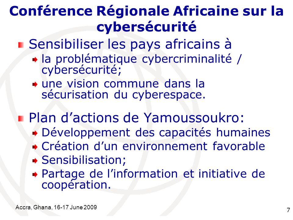 Conférence Régionale Africaine sur la cybersécurité