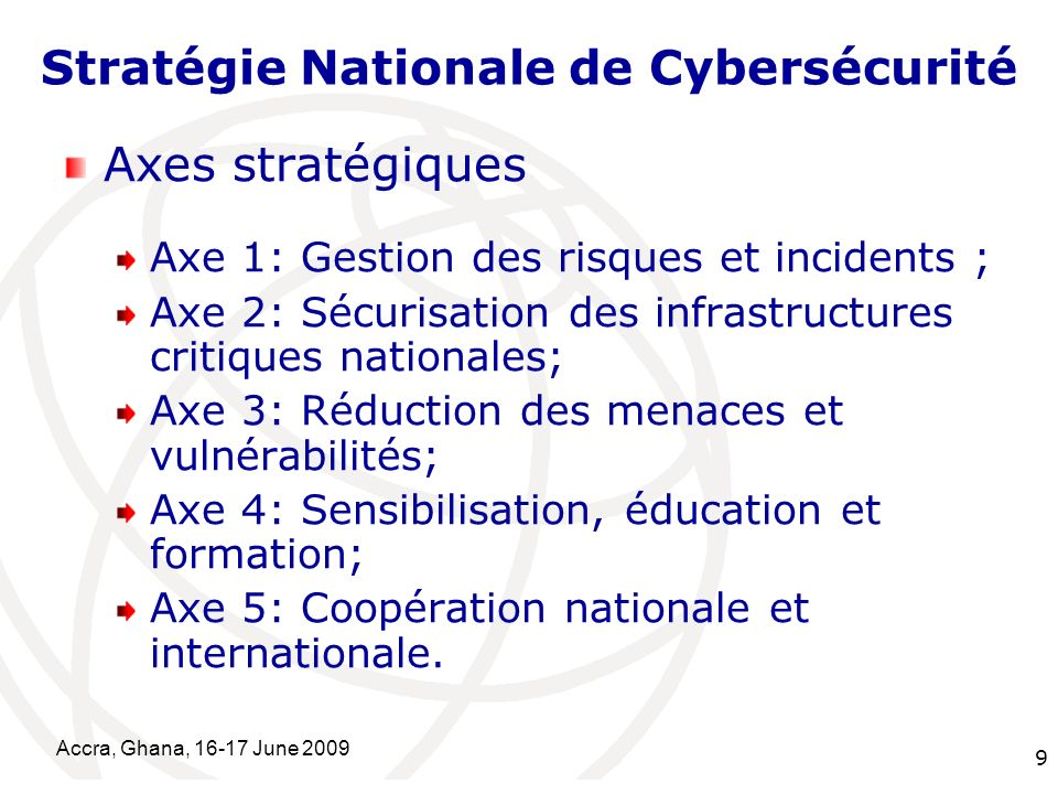 Stratégie Nationale de Cybersécurité