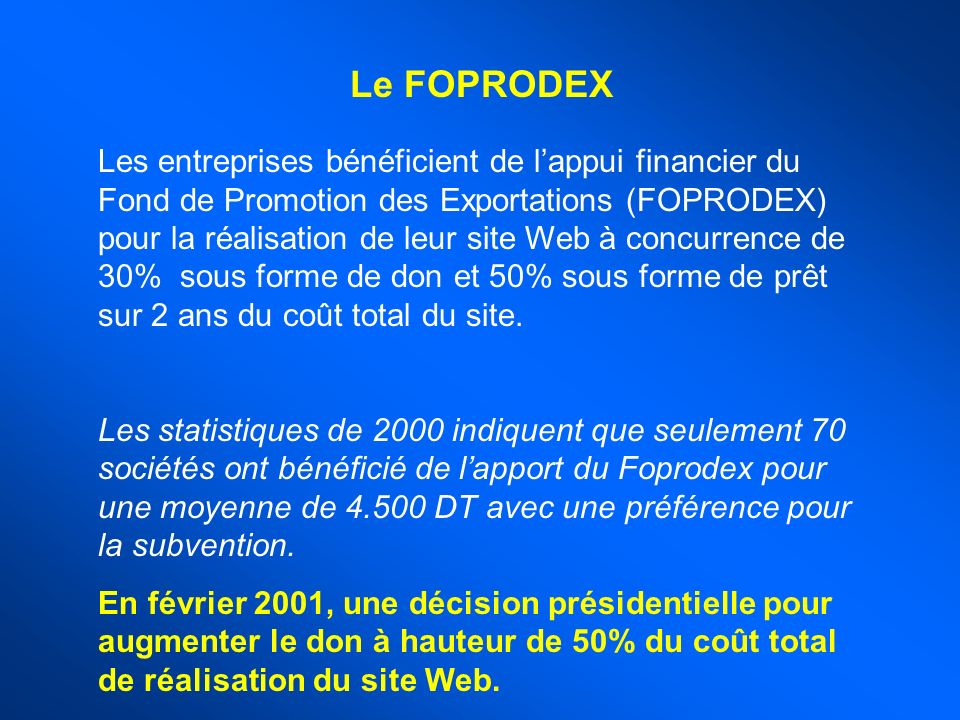 Le FOPRODEX