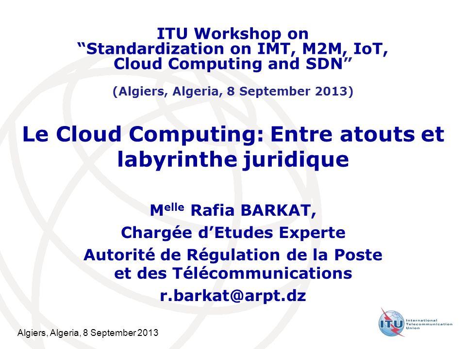 Le Cloud Computing: Entre atouts et labyrinthe juridique