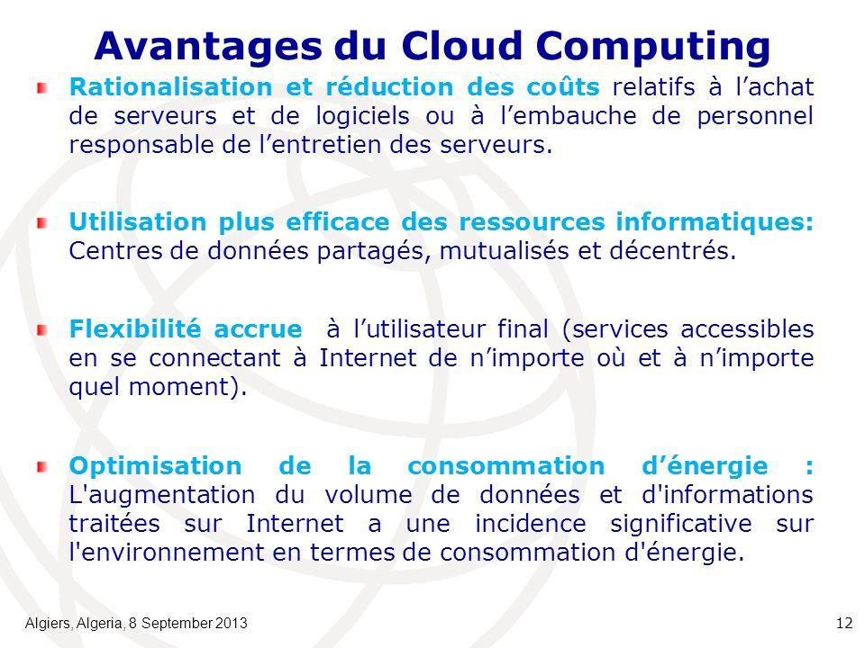 Avantages du Cloud Computing
