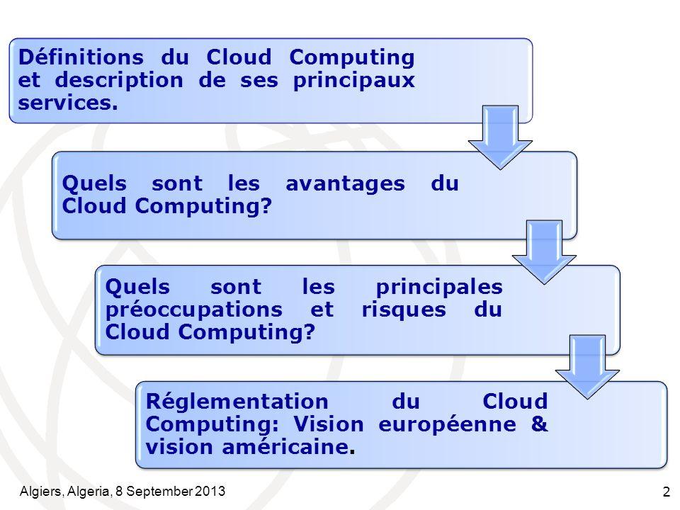 Quels sont les avantages du Cloud Computing