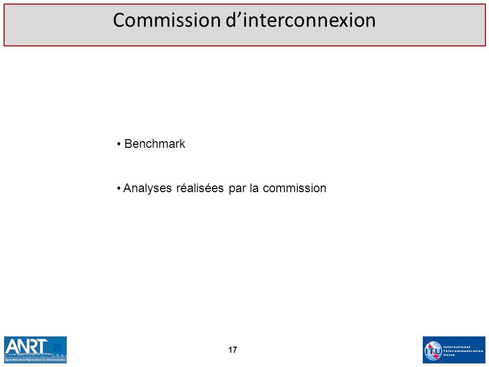 Commission d'interconnexion