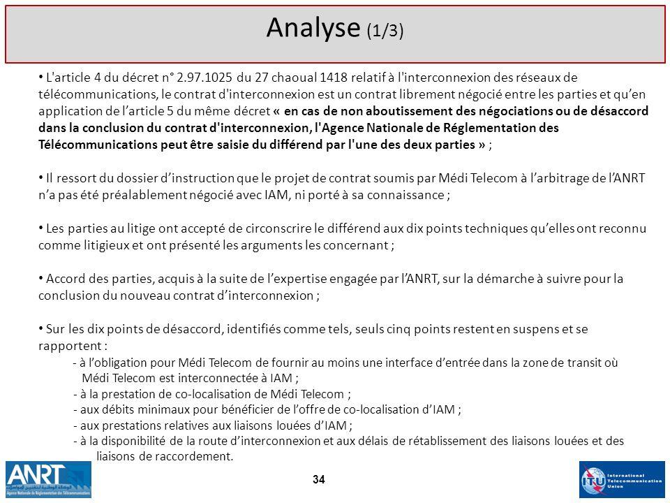 Analyse (1/3)