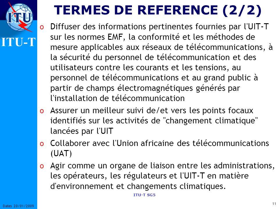 TERMES DE REFERENCE (2/2)