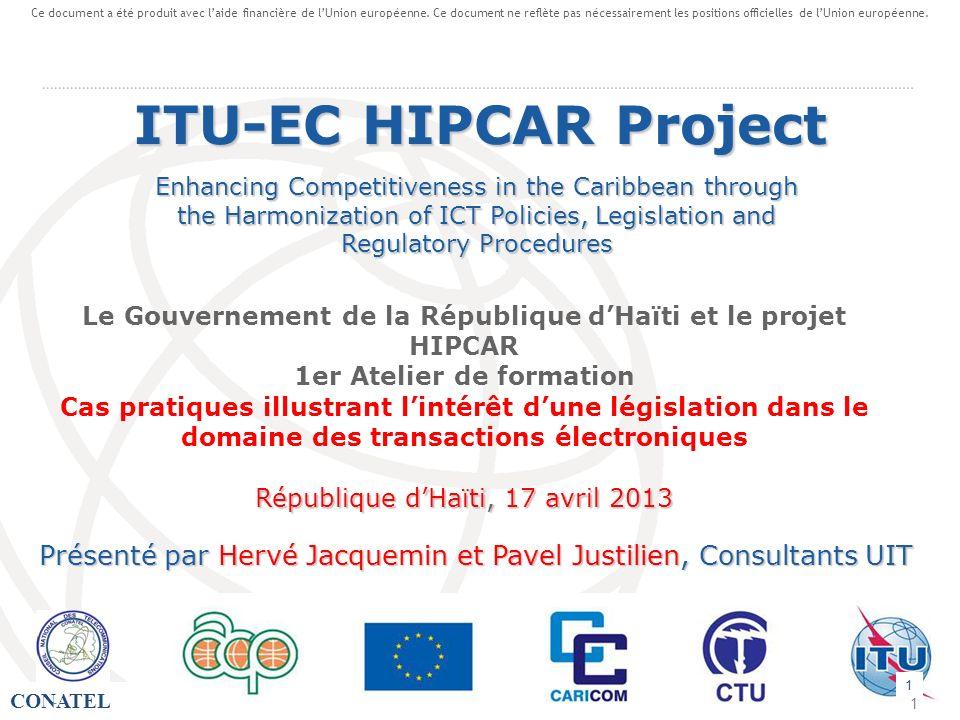 Ce document a été produit avec l'aide financière de l'Union européenne